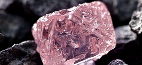 Ham Pembe elmas, Rough Pink diamond