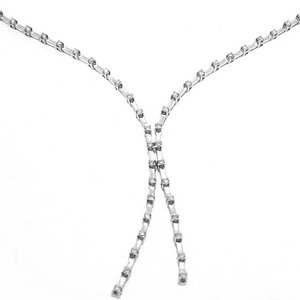 0.94ct. Diamond 18K Solid Gold Tennis Neckband