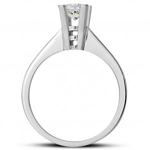 0.25ct. Diamond 14K Solid Gold Solitaire Classic Ring