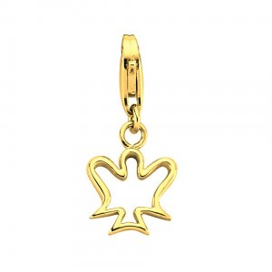 14K Solid Gold Charm