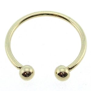 14K Solid Gold Piercing
