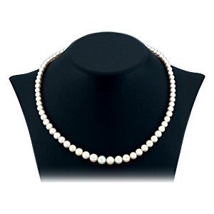 14K Solid Gold Pearl Beaded Pearl Neckband