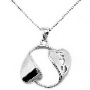 925K Silver Heart Necklace