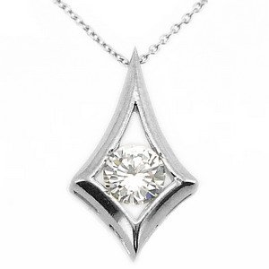 925K Silver Cubic Zirconia Necklace