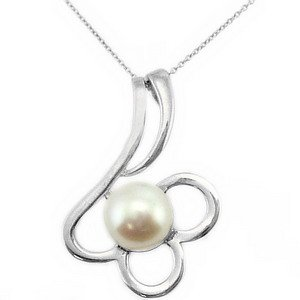 925K Silver Pearl Necklace