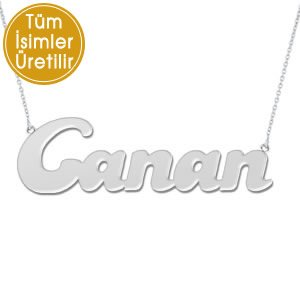 925K Silver Name Necklace