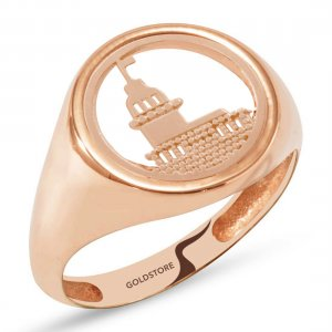 14K Solid Gold Modern Design Ring