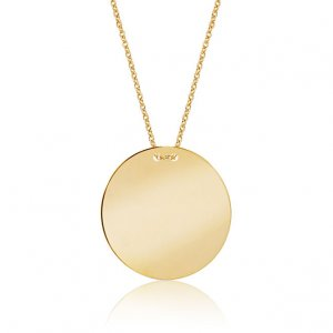 14K Solid Gold Necklace