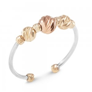 14K Solid Gold Ball Ring