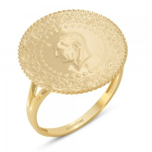 14K Solid Gold Ring